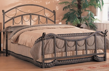Whittier Queen Size Iron Bed - 300021Q