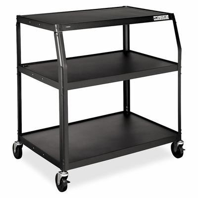 Wide-Body TV Cart - Black - HONPFUL40P