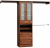 Wide Closet In A Box - Coach Cherry - Sauder Furniture - 409801
