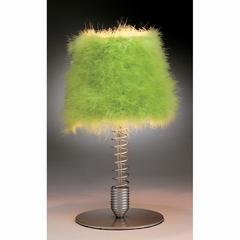 Wiggle Lamps Table Lamp Lime Green - Lumisource