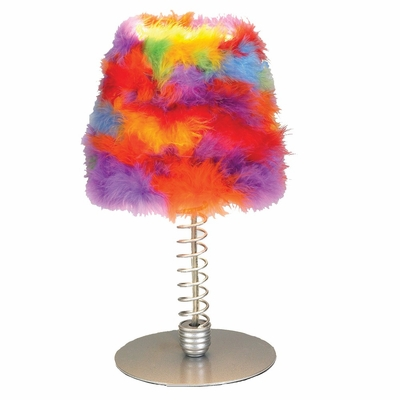 Wiggle Lamps Table Lamp Rainbow - LumiSource - LS-WIGGLE-RNBW
