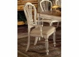 Wilshire Arm Chair in Antique White (Set of 2) - Hillsdale Furniture - 4508-805