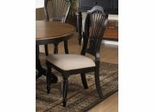 Wilshire Side Chair in Rubbed Black (Set of 2) - Hillsdale Furniture - 4509-802