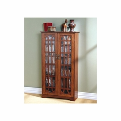 Window Pane Media Cabinet - Holly and Martin