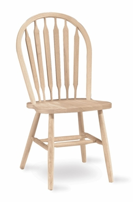 Windsor Arrowback Chair with Plain Legs - 1C-113