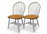 Windsor Beechwood Chairs - Set of 2 - Winsome Trading - XX999