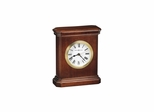 Windsor Carriage Table Clock with White Dial - Howard Miller