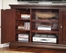 Windsor Corner Entertainment TV Stand in Windsor Cherry - Home Styles - 5541-07