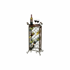 Wine Butler Wrought Iron Wine Rack - Howard Miller