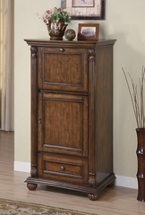 Wine Cabinet in Brown - Coaster - 100163