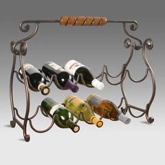 Wine Rack 10 Bottle Storage - Butler Furniture - BT-1921025