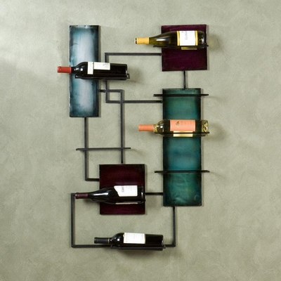 Wine Storage Wall Sculpture - Holly and Martin