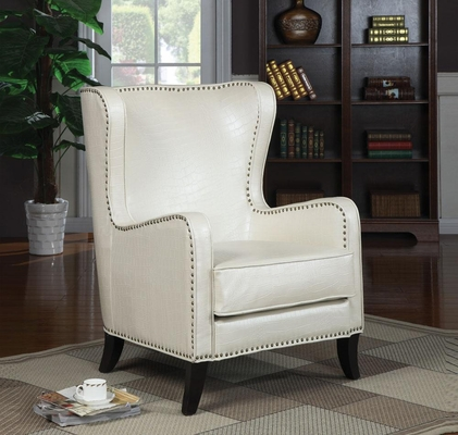 Wing Accent Chair with Nailhead Trim - 900192