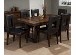 Winnifred 7PC Leg Dining Table Set with Inlay Top - 969-100KD