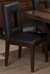 Winnifred Oak Faux Leather Side Chair - Set of 2 - 969-100KD