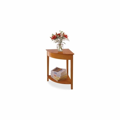 Winsome Honey Pine Corner Table - Winsome Trading - 99320