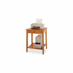 Winsome Honey Pine Printer and CPU Stand - Winsome Trading - 99323