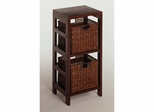 Winsome Leo 3 Piece Storage Shelf - Winsome Trading - 92525