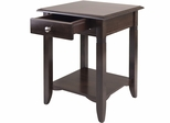 Winsome Trading Nolan Side Table with Drawer