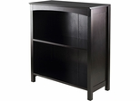 "Winsome Trading Terrace Storage Shelf 3-Tier 26"" Wide, Espresso"