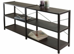 Winsome Wood Sheldon Three-Tier Crossed Wire Shelf