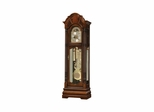 Winterhalder II Grandfather Clock in Windsor Cherry - Howard Miller