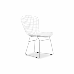 Wire White Dining Chair - Set of 2 - Zuo