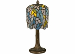 Wisteria Tiffany Mini Lamp - Dale Tiffany