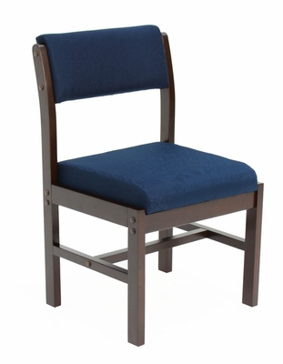 Wood and Fabric Chair - ROF-B61775-MWBE