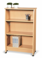 Wood Bookcase 3 Shelf - OFM - 55125