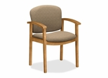 Wood Guest Chair - Harvest/Oatmeal - HON2111CBE16