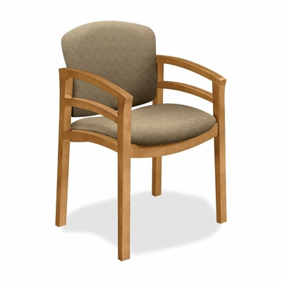 Wood Guest Chair - Harvest/Oatmeal - HON2112CBE16