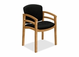 Wood Guest Chair - Harvest/Raven - HON2112CBE11