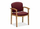 Wood Guest Chair - Harvest/Wild Rose - HON2111CBE62