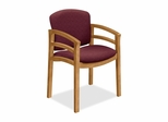 Wood Guest Chair - Harvest/Wild Rose - HON2112CBE62