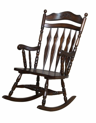 Wood Rocking Chair in Walnut - 600187