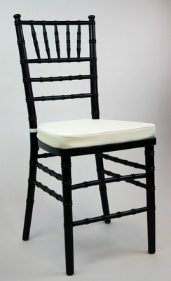 Wooden Chiavari Chair (Set of 4) in Black - ACT7000BLACK-SET