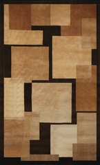 Wool Handmade Rug - Aspen 5008 - 5' x 8' - International Rugs