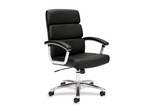 Work Chair - Black Leather - BSXVL103SB11