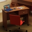 Work Desk on Casters in Morgan Cherry - Imagine - South Shore Furniture - 3576070