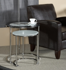 World Map Printing Set of 2 Nesting Tables - Powell Furniture - 942-266