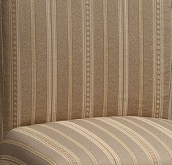 "Woven Taupe with Copper, Gold and White Stripes ""Slip Over"" (Fits 741-440 Chair) - Powell Furniture - 741-230Z"