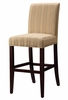 "Woven Taupe with Copper, Gold and White Stripes ""Slip Over"" for Counter Stool or Bar Stool - Powell Furniture - 742-230Z"