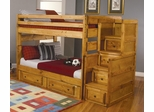 Wrangle Hill Full Over Full Bunk Bed with Under-Bed Storage - 460096