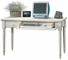 Writing Desk Antiqued White - Sauder Furniture - 158041 Harbor View