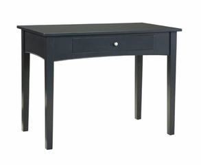 Writing Desk in Black - Shaker Cottage - Alaterre - ASCA06BL