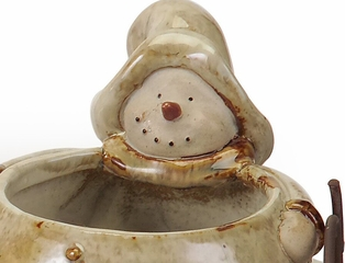 Wynny the Snowman Condiment Set - IMAX - 57728