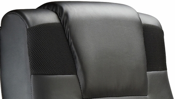 X Pedestal Black Wireless Sound Video Rocker 2.1 Sound Chair
