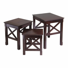 Xola 3Pc Nesting Table - Winsome Trading - 40333