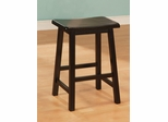 "Yates 24"" Wooden Bar Stool - Set of 2 - 180089N"